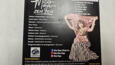 Photo of Musique : « Zem zem », le nouvel album de Miss Maya, disponible