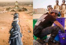 Photo of Projet Beyond Walls: L'artiste SAYPE reconnaissant envers le peuple Burkinabè